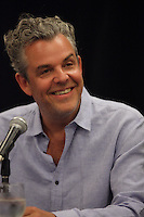 August 25 2012 - Montreal (Qc) CANADA -  News Conference for TWO JACKS with Danny Huston, actor  (L), his son Jack Huston, actor and Julia Verdin, producer. IN PHOTO : Danny Huston.<br /> <br /> TWO JACKS is in the Official Competien of Montreal World Film Festival that run til September 3, 2012.<br /> <br /> Danny Huston is the son of filmmaker John Huston