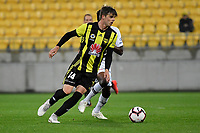 Wellington Phoenix&rsquo; Alex Rufer in action during the A-League - Wellington Phoenix v Western Sydney Wanderers at Westpac Stadium, Wellington, New Zealand on Saturday 3 November  2018. <br /> Photo by Masanori Udagawa. <br /> www.photowellington.photoshelter.com