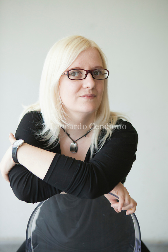 Susanna Raule, italian writer. © Leonardo Cendamo