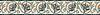 "6"" Bella border, a hand-cut stone mosaic, shown in polished Verde Luna, Verde Alpi, Rosa Verona, and honed Fontenay Claire."