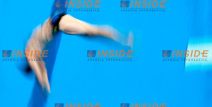 Mathieu ROSSET FRA France <br /> 1m Springboard Men<br /> London, Queen Elizabeth II Olympic Park Pool <br /> LEN 2016 European Aquatics Elite Championships <br /> Diving  <br /> Day 02 10-05-2016<br /> Photo Andrea Staccioli/Deepbluemedia/Insidefoto