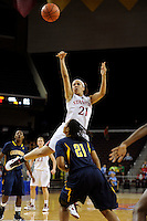 LOS ANGELES, CA - MARCH 13:  Rosalyn Gold-Onwude during Stanford's 64-44 win over California in the Pac-10 Tournament at the Staples Center on March 13, 2010 in Los Angeles, California.