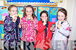 ICECREAM: Supporting DownSydrome Ireland fundraiser at Spa NS on Thursday were Senior infants l-r: Molly Sheehy, Ciara Dowling, Clara O'Dowd and Siún Clifford.....