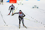 03/01/2014, Dobbiaco, Toblach - 2014 Cross Country Ski World Cup Tour de ski <br /> Elisa BROCARD in action during the Ladies 15 km Free Pursuit in Dobbiaco, Toblach, Italy on 03/01/2014.