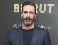 NEW YORK, NY - APRIL 10: Jon Hamm attends the 'Beirut' New York Screening at The Robin Williams Center on April 10, 2018 in New York City. <br /> CAP/MPI/JP<br /> &copy;JP/MPI/Capital Pictures