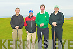 FINISHED: Just finished their 3ball competition on Sunday at Tralee Golf Club. l-r: Eddie Enright, Mixck O'Connell, Ned O'Shea and Eugene O'Callaghan.....