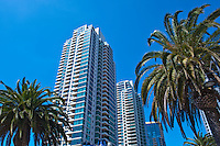 The Grande at Santa Fe Place, high-rise residential building, San Diego, Ca
