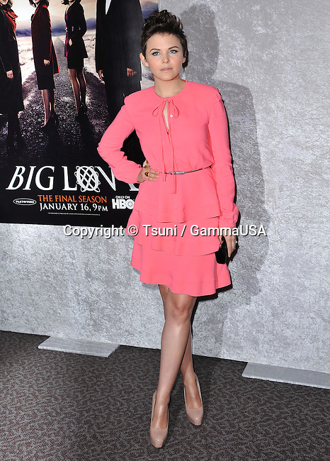 Ginnifer Goodwin  -  Big Love Premiere at the DGA in Los Angeles.