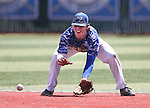 Western Nevada's Casey Cornwell makes a play against College of Southern Nevada at WNC in Carson City, Nev. on Friday, May 6, 2016. <br />Photo by Cathleen Allison/Nevada Photo Source