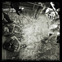 Sea Watch-2.<br /> Die Sea Watch-2 ist zu ihrer 13. SAR-Mission vor der libyschen Kueste.<br /> Im Bild: Mannschaftsbesprechung (Briefiing).<br /> 19.10.2016, Mediterranean Sea<br /> Copyright: Christian-Ditsch.de<br /> [Inhaltsveraendernde Manipulation des Fotos nur nach ausdruecklicher Genehmigung des Fotografen. Vereinbarungen ueber Abtretung von Persoenlichkeitsrechten/Model Release der abgebildeten Person/Personen liegen nicht vor. NO MODEL RELEASE! Nur fuer Redaktionelle Zwecke. Don't publish without copyright Christian-Ditsch.de, Veroeffentlichung nur mit Fotografennennung, sowie gegen Honorar, MwSt. und Beleg. Konto: I N G - D i B a, IBAN DE58500105175400192269, BIC INGDDEFFXXX, Kontakt: post@christian-ditsch.de<br /> Bei der Bearbeitung der Dateiinformationen darf die Urheberkennzeichnung in den EXIF- und  IPTC-Daten nicht entfernt werden, diese sind in digitalen Medien nach &sect;95c UrhG rechtlich geschuetzt. Der Urhebervermerk wird gemaess &sect;13 UrhG verlangt.]