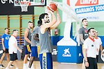 Javier Beiran during the training of Spanish National Team of Basketball in Madrid previous to World Cup in China . August 21, 2019. (ALTERPHOTOS/Francis González)