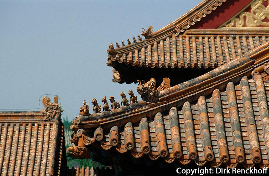 westliche Halle der vollkommenen Harmonie, Kaiserpalast von Peking, China, Unesco-Weltkulturerbe