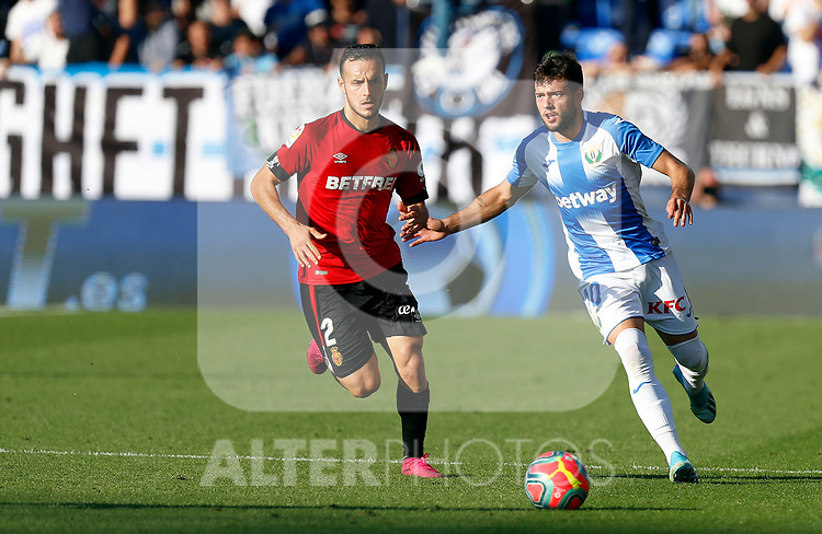 CD Leganes's Jose Arnaiz during La Liga match. Oct 26, 2019. (ALTERPHOTOS/Manu R.B.)