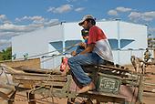 Pará State, Brazil. São Félix do Xingu. Horse and cart.