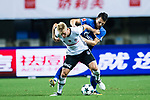 Besiktas Istambul Defender Andreas Beck (L) fights for the ball with FC Schalke Midfielder Yevhen Konoplyanka (R) during the Friendly Football Matches Summer 2017 between FC Schalke 04 Vs Besiktas Istanbul at Zhuhai Sport Center Stadium on July 19, 2017 in Zhuhai, China. Photo by Marcio Rodrigo Machado / Power Sport Images