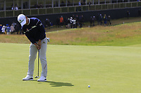 Doyeob Mun (KOR) putts on the 1st green during Thursday's Round 1 of the 148th Open Championship, Royal Portrush Golf Club, Portrush, County Antrim, Northern Ireland. 18/07/2019.<br /> Picture Eoin Clarke / Golffile.ie<br /> <br /> All photo usage must carry mandatory copyright credit (© Golffile | Eoin Clarke)