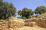 Israel, Upper Galilee,  the Israelite Gate in Tel Dan