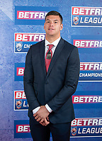 Picture by Allan McKenzie/SWpix.com - 25/09/2018 - Rugby League - Betfred Championship & League 1 Awards Dinner 2018 - The Principal Manchester- Manchester, England - Red carpet, Quinn Ngawati.