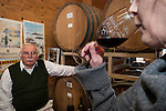 Amador Vintner's Behind the Cellar Door event at the wineries of Amador County..John Bree discusses the art of wine blending at Sutter Ridge Winery and Vineyards