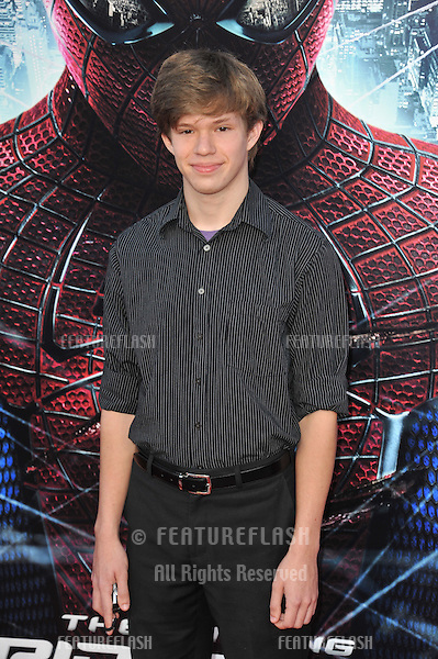 "Andy Gladbach at the world premiere of his movie ""The Amazing Spider-Man"" at Regency Village Theatre, Westwood..June 29, 2012  Los Angeles, CA.Picture: Paul Smith / Featureflash"