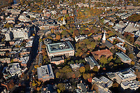 Harvard campus aerial view, Cambridge, MA