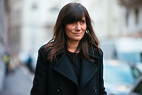 Emanuelle Alt at Milan Fashion Week (Photo by Hunter Abrams/Guest of a Guest)