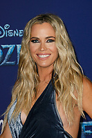 Hollywood, CA - NOV 07:  Teddi Mellencamp attends the world premiere of Disney's 'Frozen II' at the Dolby Theatre on November 7, 2019 in Los Angeles CA.  <br /> CAP/MPI/IS<br /> ©IS/MPI/Capital Pictures