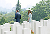 "CATHERINE, DUCHESS OF CAMBRIDGE AND PRINCE WILLIAM.visited the Kranji Commonwealth War Cemetery on their last day of their vsit to Singapore_13/09/2012.The Duchess used a parasol to protect her from the sun while she viewed the war graves..Mandatory credit photo: ©Dias/DIASIMAGES..(Failure to credit will incur a surcharge of 100% of reproduction fees)..                **ALL FEES PAYABLE TO: ""NEWSPIX INTERNATIONAL""**..IMMEDIATE CONFIRMATION OF USAGE REQUIRED:.DiasImages, 31a Chinnery Hill, Bishop's Stortford, ENGLAND CM23 3PS.Tel:+441279 324672  ; Fax: +441279656877.Mobile:  07775681153.e-mail: info@newspixinternational.co.uk"