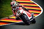 GP Deutschland during the World Championship 2014.<br /> Sachsering, Germany.<br /> Johann zarco<br /> Rafa Marrodán by PHOTOCALL3000
