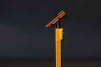 France, Manche (50), Baie du Mont-Saint-Michel, classée Patrimoine Mondial de l'UNESCO, le Mont-Saint-Michel,  longue vue touristique  // : France, Manche, Bay of Mont Saint Michel, listed as World Heritage by UNESCO, Mont Saint Michel,   long tourist sight