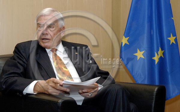Brussels-Belgium - 14 June 2006---Christian SCHWARZ-SCHILLING, EU Special Representative in Bosnia and Herzegovina---Photo: Horst Wagner/eup-images