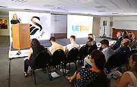 Pictured: Sheter Cymru representative. Monday 19 June 2017<br />