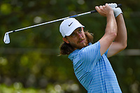 Tommy Fleetwood (ENG) watches his tee shot on 3 during round 1 of the 2019 Tour Championship, East Lake Golf Course, Atlanta, Georgia, USA. 8/22/2019.<br /> Picture Ken Murray / Golffile.ie<br /> <br /> All photo usage must carry mandatory copyright credit (© Golffile | Ken Murray)