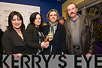 Eilis Ní Chinneide (Dingle), Catherine and Maurice Galway (Festival Organizer) and John Benny Moriarty (Dingle) at the Dingle Film Festival over the weekend.