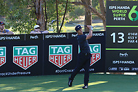 Thorbjorn Olesen (DEN) in action on the 12th during Round 2 of the ISPS Handa World Super 6 Perth at Lake Karrinyup Country Club on the Friday 9th February 2018.<br /> Picture:  Thos Caffrey / www.golffile.ie<br /> <br /> All photo usage must carry mandatory copyright credit (&copy; Golffile   Thos Caffrey)