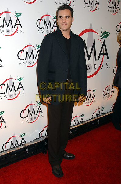 15 November 2005 - New York, New York - Joaquin Phoenix. 39th Annual CMA Awards held at Madison Square Garden. Photo Credit: Laura Farr/AdMedia