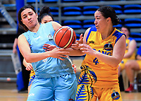 Action from the National Under-23 Basketball Championships Tournament women's match between Auckland Dream and Tauranga at Te Rauparaha Arena in Porirua, New Zealand on Friday, 9 August 2019. Photo: Dave Lintott / lintottphoto.co.nz