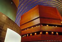 PA, Philadelphia, Pennsylvania, Interior of the Kimmel Center for the Performing Arts in downtown Philadelphia.