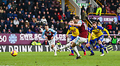 2nd February 2019, Turf Moor, Burnley, England; EPL Premier League football, Burnley versus Southampton; Ashley Barnes of Burnley scores from the penalty spot in the 94th minute to make it 1-1