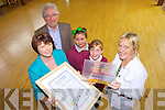 PROUD: Duagh NS pupils and staff were proud of earning their Discovery Science Award. Pictured were: Mary Nolan (Science Co-ordinator), Jer Kirby (chair, board of management), Zara O'Donoghue, Megan O'Brien and Carmel Fitzgerald (principal).