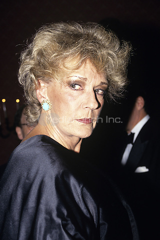Pat Buckley photographed in New York City in October 1990. © Marzullo/MediaPunch.