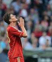 FUSSBALL   SAISON 2011/2012   CHAMPIONS LEAGUE FINALE FC Bayern Muenchen - FC Chelsea  19.05.2012 Mario Gomez (FC Bayern Muenchen) fleht gen Himmel