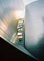 Walt Disney Concert Hall by architect Frank Gehry, Los Angeles, California