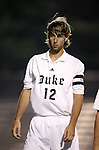 Duke's Chris Loftus on Friday, October 21st, 2005 at Koskinen Stadium in Durham, North Carolina. The Duke University Blue Devils defeated the North Carolina State University Wolfpack 6-0 during an NCAA Division I Men's Soccer game.