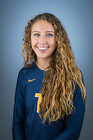 Berkeley, CA - Monday August 9, 2016: Cal Volleyball Portraits 2016 ANTZELA DEMPI