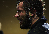Taranaki number eight Jarrad Hoeata. Air New Zealand Cup rugby match - Taranaki v Auckland at Yarrows Stadium, New Plymouth, New Zealand. Friday 9 October 2009. Photo: Dave Lintott / lintottphoto.co.nz