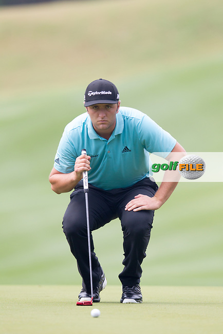 John Rahm (ESP) on the 6th during the 3rd round at the WGC Dell Technologies Matchplay championship, Austin Country Club, Austin, Texas, USA. 24/03/2017.<br /> Picture: Golffile | Fran Caffrey<br /> <br /> <br /> All photo usage must carry mandatory copyright credit (&copy; Golffile | Fran Caffrey)