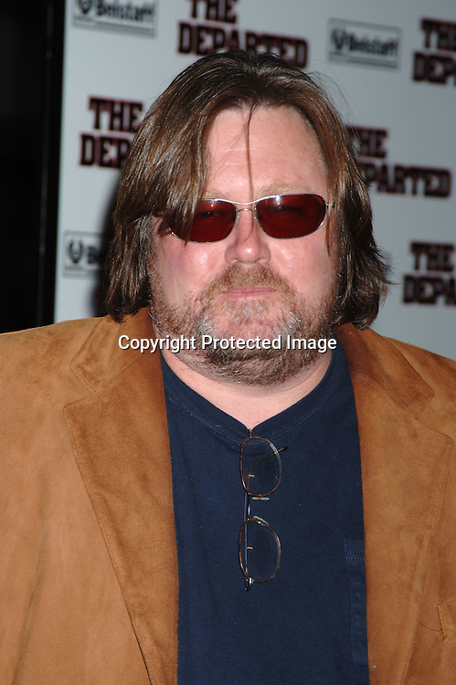 "Bill Monahan ..arriving at The New York Premiere of "" The Departed"" ..directed by Martin Scorsese and starring Leonardo DiCaprio, Jack Nicholson, Matt Damon and Mark Wahlberg..on September 26, 2006 at The Ziegfeld Theatre...Robin Platzer, Twin Images"