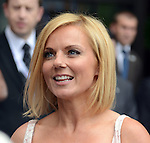 Ginger Spice Geri Halliwell leaves Viva Forever photocell at St Pancras Hotel in London today. 26.6.12.....Pic by Gavin Rodgers/Pixel 8000 Ltd