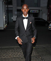 Sir Mo Farah at the Save The Children Centenary Gala, The Roundhouse, Chalk Farm Road, London, England, UK, on Thursday 09th May 2019.<br /> CAP/CAN<br /> &copy;CAN/Capital Pictures
